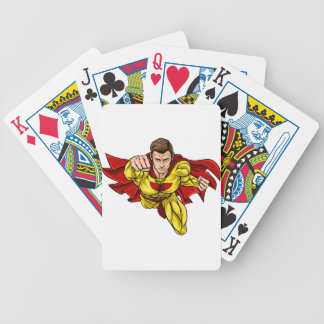 Super Hero Bicycle Playing Cards