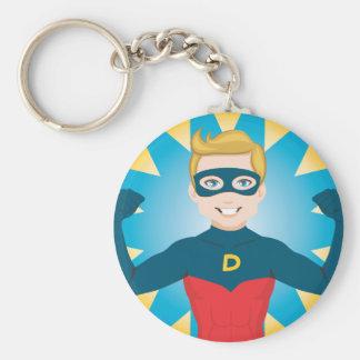 Super Hero Dad Key Chain