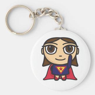 Super Hero Girl Character Keychain