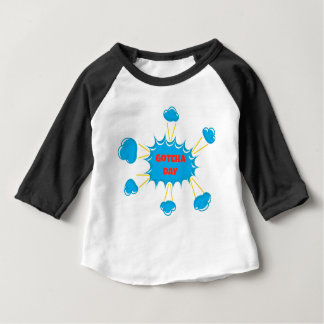 Super Hero Gotcha Day Adoption Design Baby T-Shirt