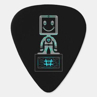 #Super Hero Guitar Pick