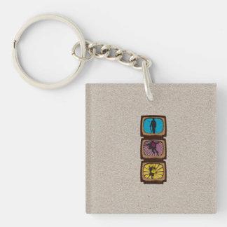 Super Hero Acrylic Key Chain