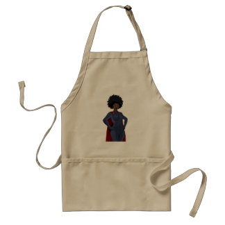 Super Hero Lady Standard Apron