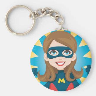 Super Hero Mom Key Chains