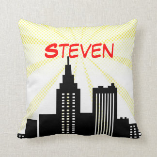 Super Hero Pillow Comic Book Themed Bedroom Decor