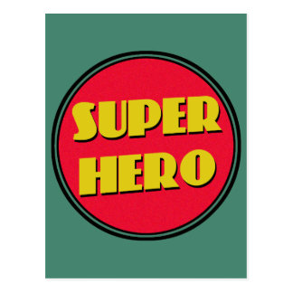 Super Hero! Postcard