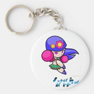 Super Hero - Punch Girl Key Chain