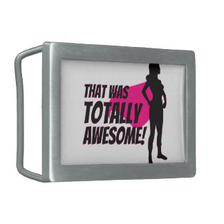 Super Hero Woman Power Belt Buckles