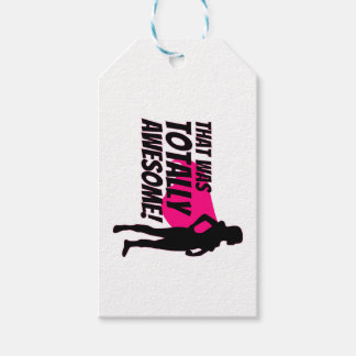 Super Hero Woman Power Gift Tags