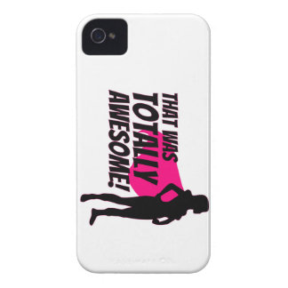 Super Hero Woman Power iPhone 4 Case