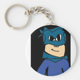 super heroe basic round button keychain