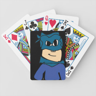 super heroe bicycle playing cards