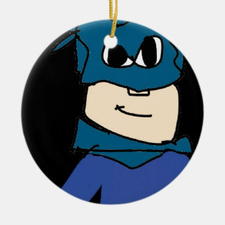 super heroe ceramic ornament