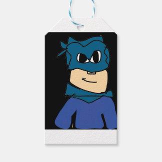 super heroe gift tags