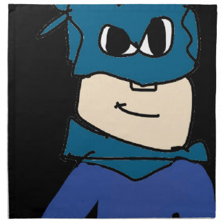super heroe napkin