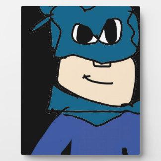 super heroe plaque