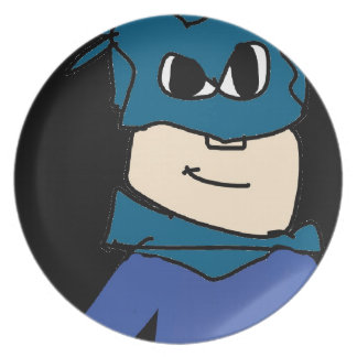 super heroe plate