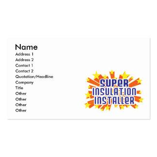 Super Insulation Installer Business Cards