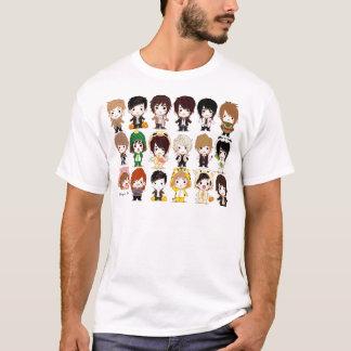 Super Junior (Cartoon Wallpaper )(big) T-Shirt