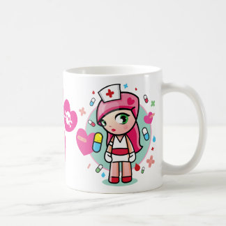 super kawaiii nurse coffee mug