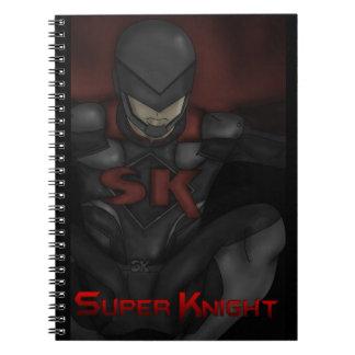 Super Knight Notebook! Spiral Notebook