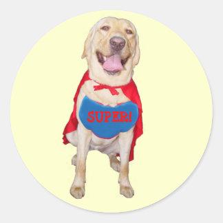 Super Lab Reward Sticker