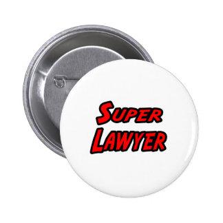 Super Lawyer 2 Inch Round Button