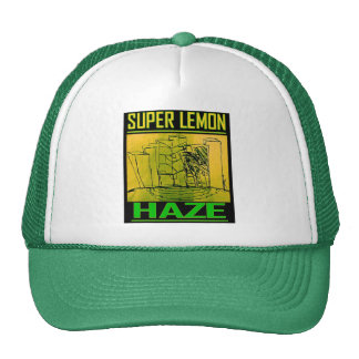 SUPER LEMON HAZE TRUCKER HAT