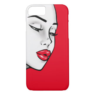 Super Lip Shade Girl (Customizable Lip Color) iPhone 7 Case