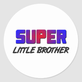 Super little Brother Stickers
