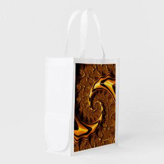 Super Loompa Landslide Milk Chocolate Spiral Reusable Grocery Bag
