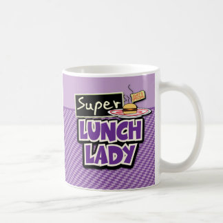 Super Lunch Lady Classic White Coffee Mug