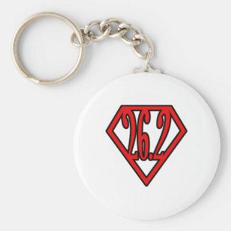 Super Marathoner Keychain