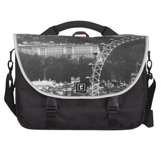 "Super! Millennium Wheel"" Laptop Shoulder Bag"