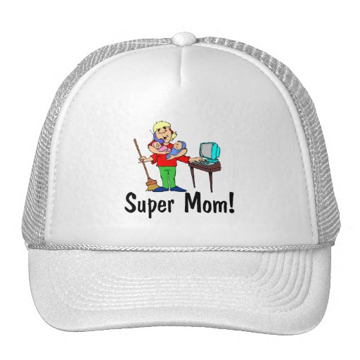 Super Mom (4 Arms) Mesh Hat