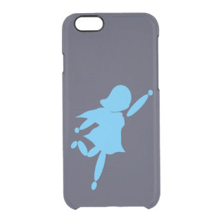 Super Mom Blue iPhone 6/6s Clearly™ Deflector Case