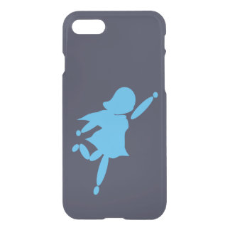 Super Mom Blue iPhone 7 Clearly™ Deflector Case