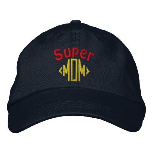 Super Mom Embroidered Hat