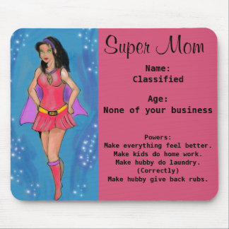 Super Mom Mouse Pad