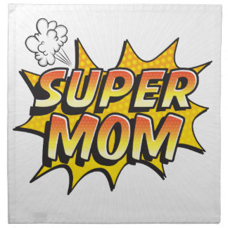 Super Mom Napkin