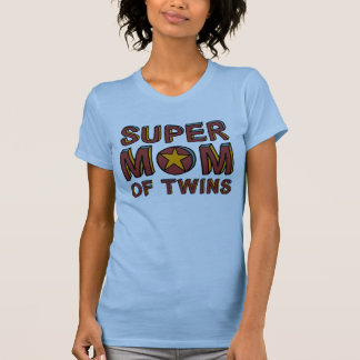 SUPER MOM OF TWINS T-Shirt