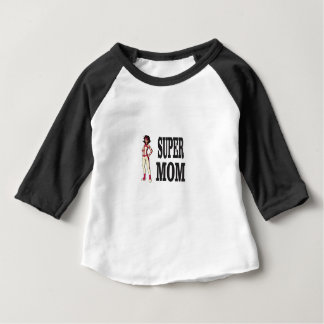 super mom suit baby T-Shirt