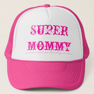Super Mommy - Customized - Customized Trucker Hat