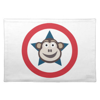 Super Monkey Graphic Placemat