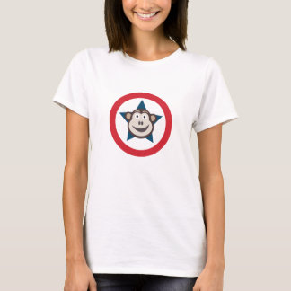 Super Monkey Graphic Women's Tee