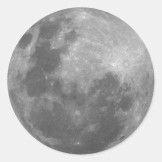 Super Moon Full Moon Lunar Photograph Sticker