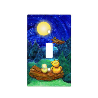 Super Moon Night switchplate