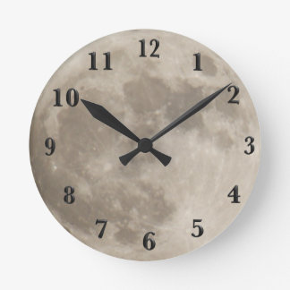 Super Moon November 13th 2016 Round Clock