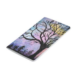 Super Moon & Tree Landscape Journal