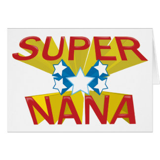 SUPER NANA CARD